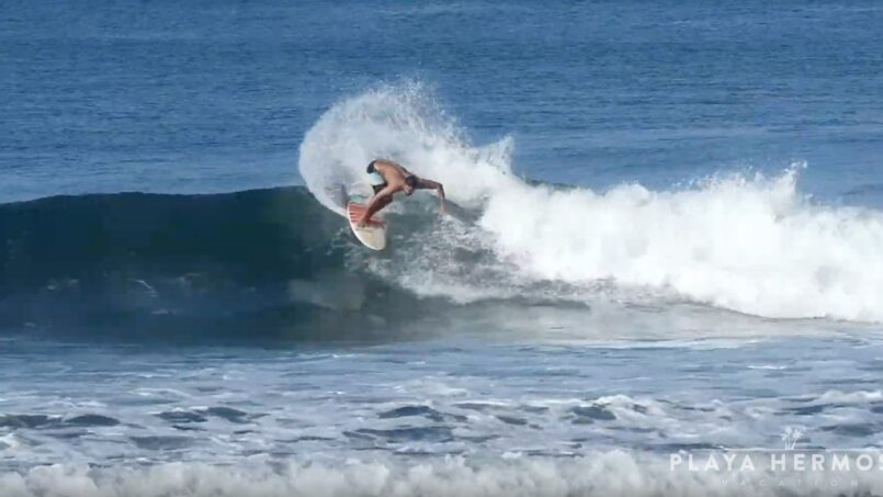Surfing at Playa Hermosa, Costa Rica March 5-13, 2020